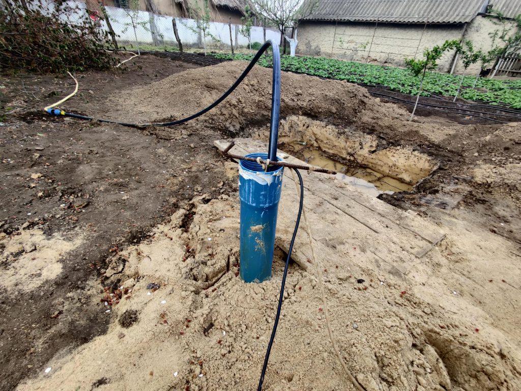 Прокачка скважины, открытие водоносных горозонтов