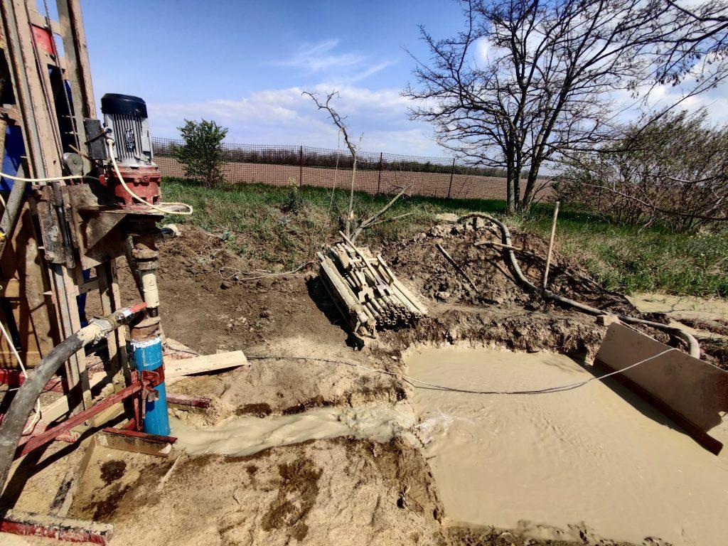 Промывка водоносных горизонтов чистой водой